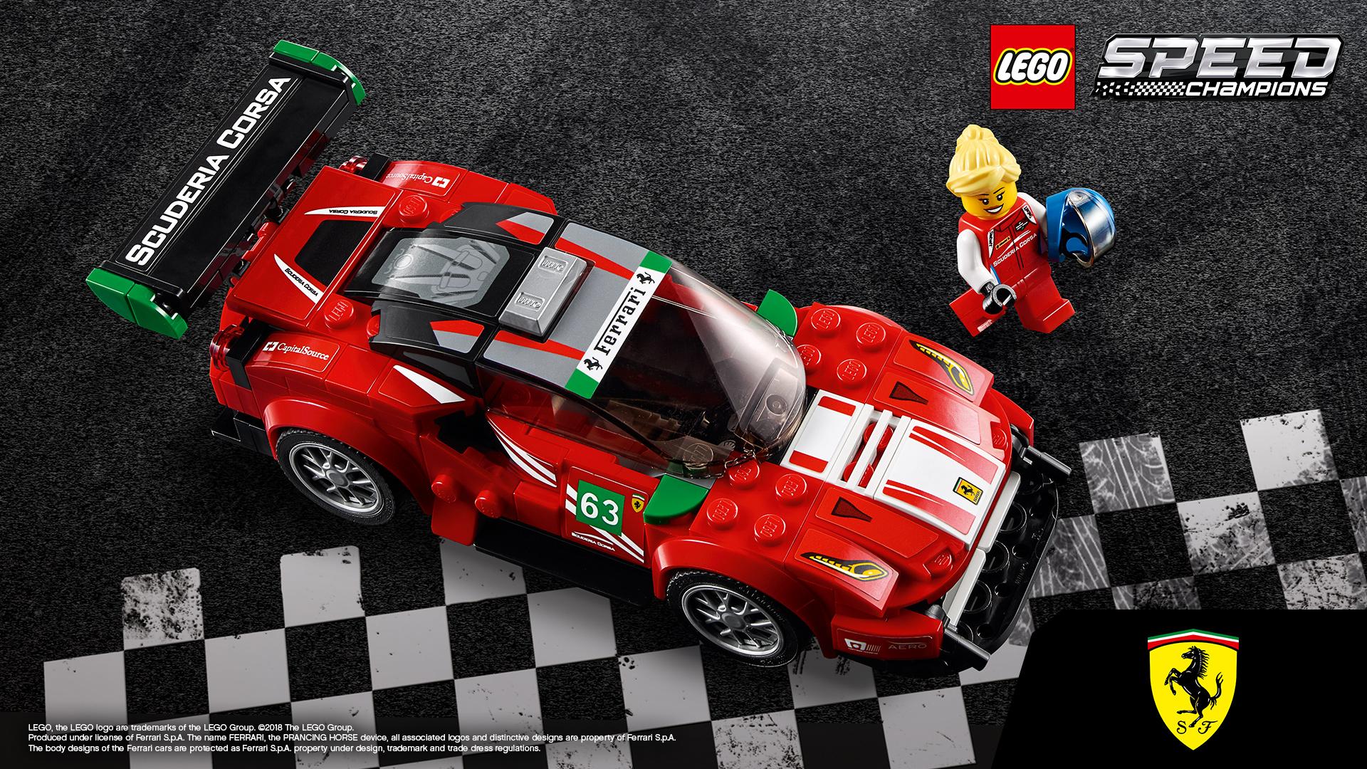 Lego Speed Champions: auto da corsa lego